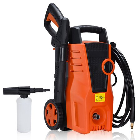 Costway 1400PSI Electric High Pressure Washer 2000W 1.6GPM Sprayer Cleaner Machine