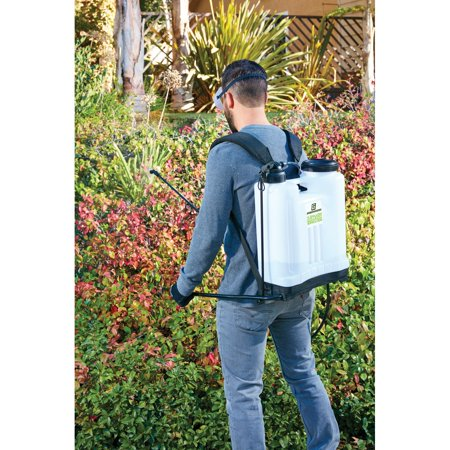 4 Gallon Backpack Sprayer with 4 Nozzles - Walmart com