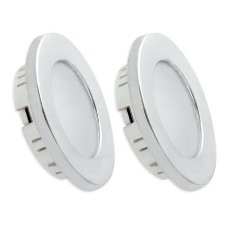 dream lighting 12v led ceiling dome light flush mount 2w 110lumen