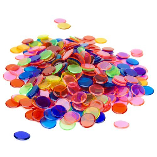 Brybelly Holdings GBIN-301 350 Pack Mixed Bingo Chips