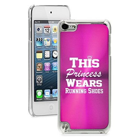 For Apple iPod Touch 5th / 6th Generation Hard Back Case Cover This Princess Wears Running Shoes ()