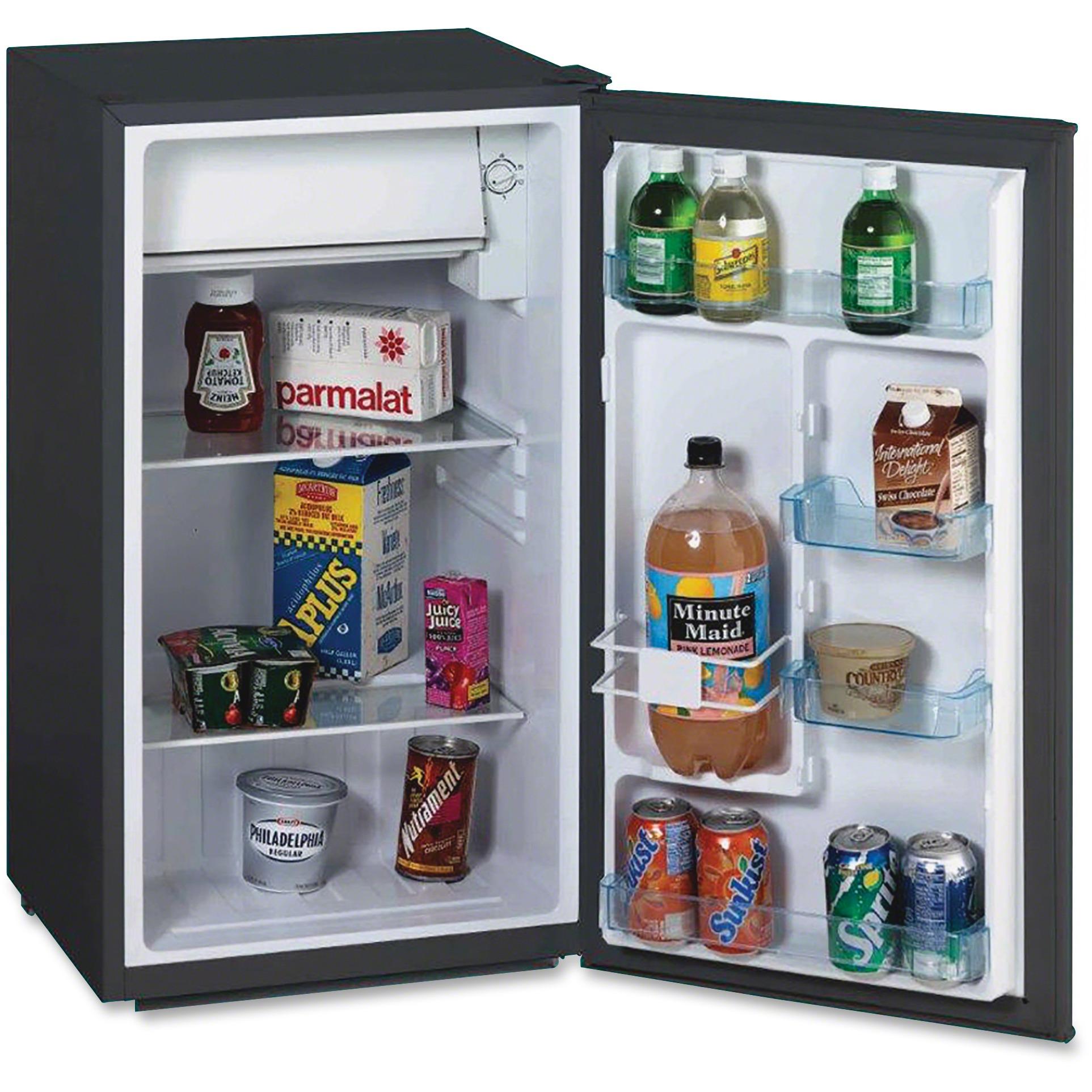 Avanti RM3316B 3.3 Cu Ft Compact Refrigerator, Black