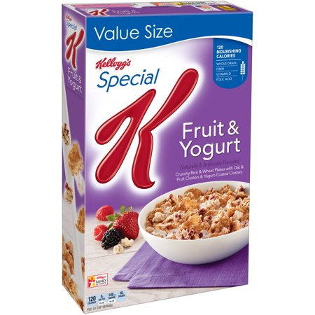 Kellogg's Special K Breakfast Cereal, Fruit & Yogurt, 19.1 Oz