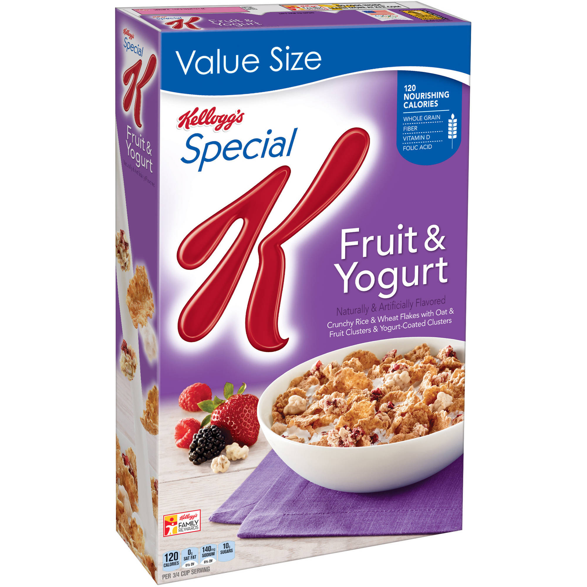 Kellogg's Special K Fruit & Yogurt Cereal, 19.1 oz