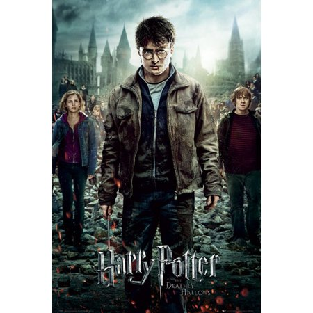 Harry Potter Part 2 One Sheet Poster Print (24 x 36)