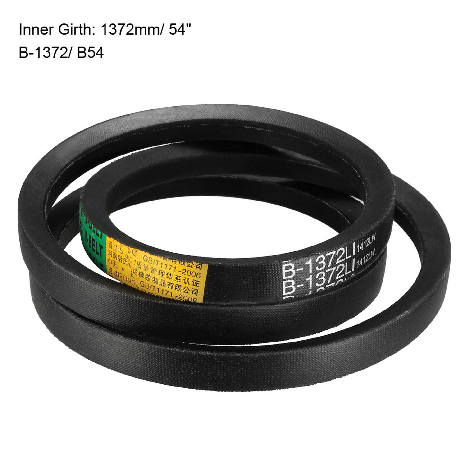 B-1372/B54 Drive V-Belt Inner Girth 54-inch Industrial Power Rubber Transmission Belt - image 3 of 4