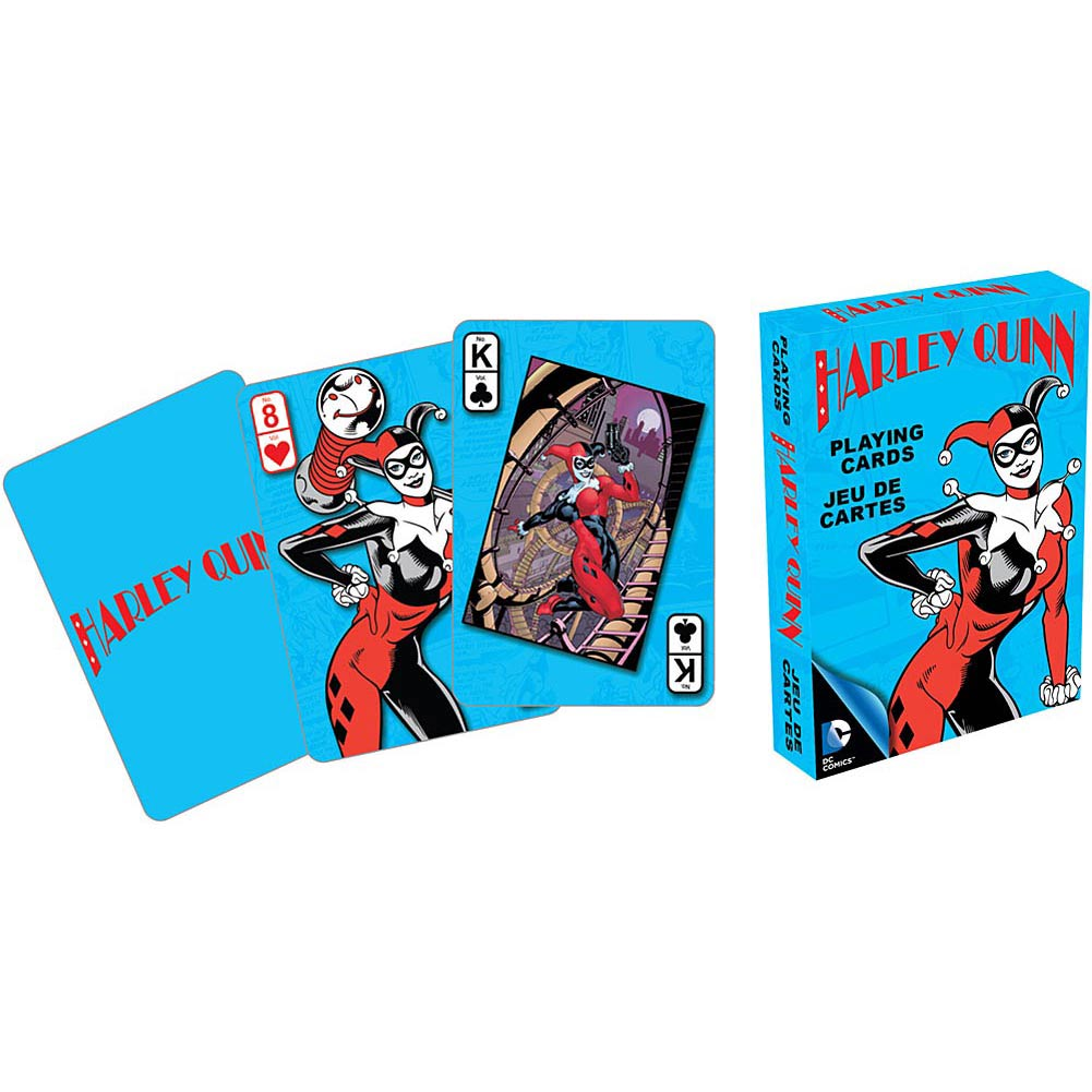 Harley Quinn Playing Cards, Cartoons | Comics by NMR Calendars by Aquarius