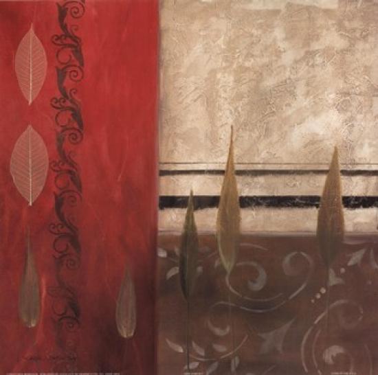 Arte Forum I Poster Print by Carol Robinson (12 x 12)