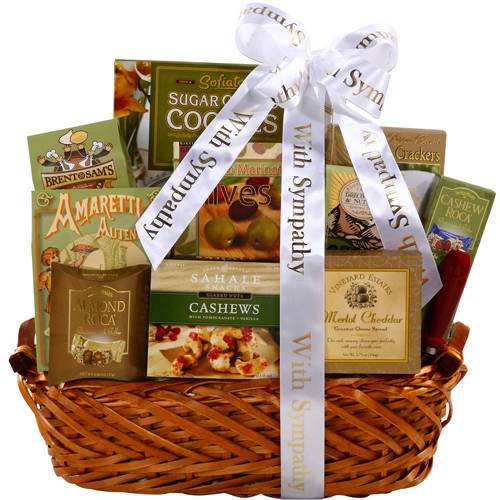 Alder Creek Gift Baskets Sympathy Gourmet Gift Basket
