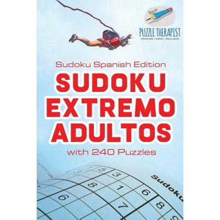 Sudoku Extremo Adultos - Sudoku Spanish Edition - With 240 - Spanish Halloween Sudoku