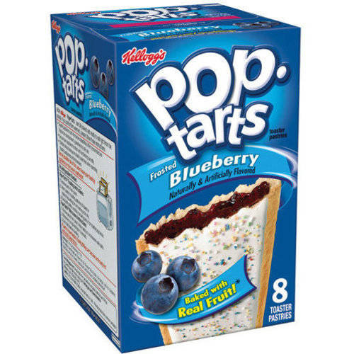 Kellogg's Pop-Tarts Frosted Blueberry Toaster Pastries, 14.7 oz by Kellogg Sales Co.