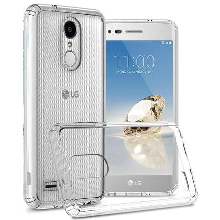 CoverON LG Rebel 4 / Phoenix 4 / Aristo 3 / Tribute Empire Case, ClearGuard Series Clear Hard Phone Cover