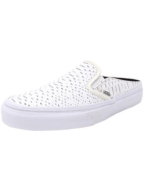 9ff4296531 Product Image Vans Classic Slip-On Mule Embossed Python White   True  Ankle-High Snakeskin Fashion