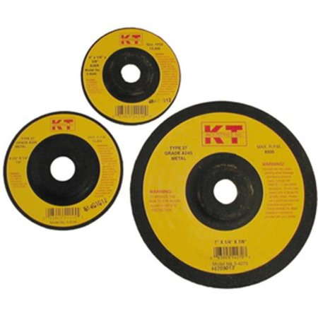 K-T Industries 5-4271 7 x 1/8 x 7/8 Metal Grinding Wheel