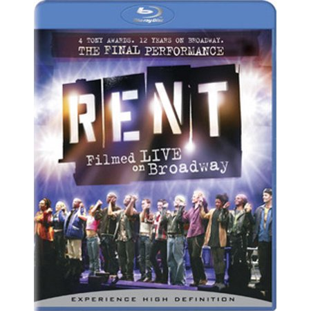 Rent: Filmed Live on Broadway (Blu-ray) - Rent Broadway Halloween