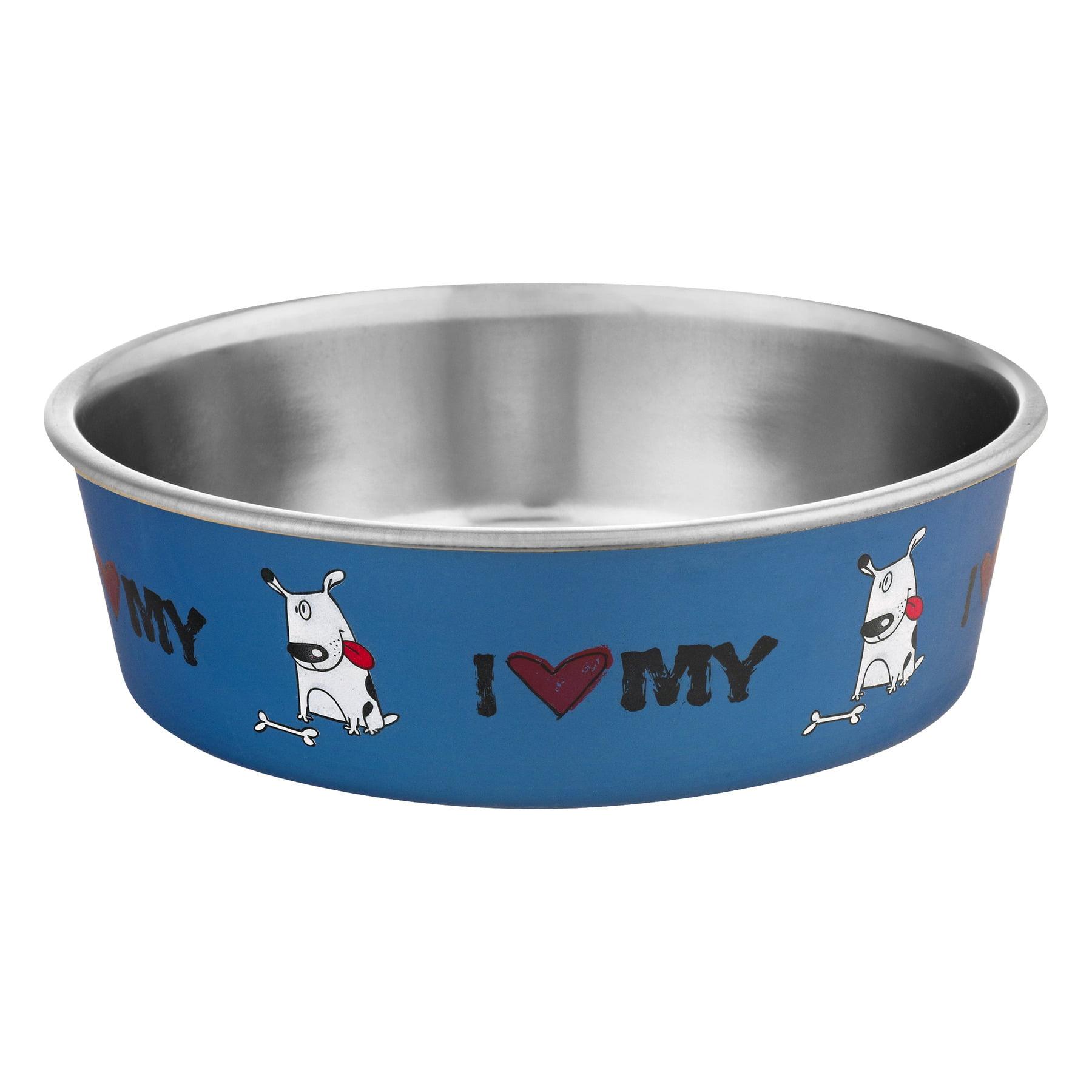 Loving Pets Bella Bowl Large I Love My Dog, 1.0 CT