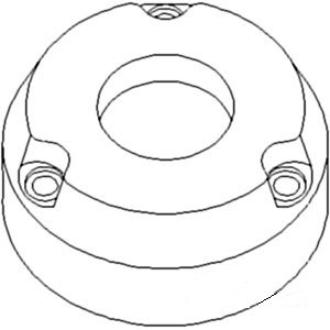 70237215 New Brake Friction Plate Made To Fit Allis