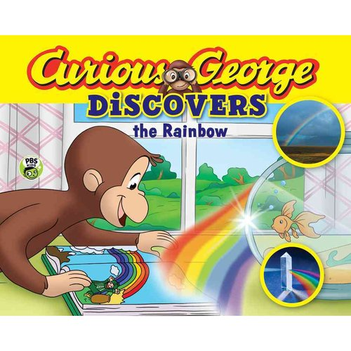 Curious George Discovers the Rainbow by
