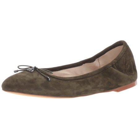 2a5fde5f8 Sam Edelman - Sam Edelman Women's Felicia Ballet Flat, Deep Forest, 7  Medium US - Walmart.com