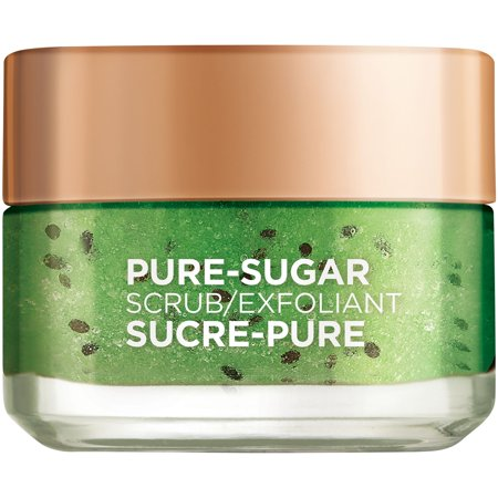L'Oreal Paris Pure Sugar Scrub Purify & Unclog, 1.7 oz.