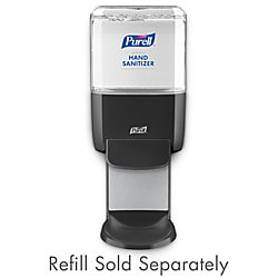 Purell Sanitizer Wall Mount - Purell® ES4 Wall-Mount Hand Sanitizer Dispenser, Graphite