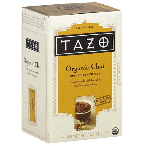 Tazo Spiced Black Tea Filterbags, 1.9 oz  (Pack of 6)