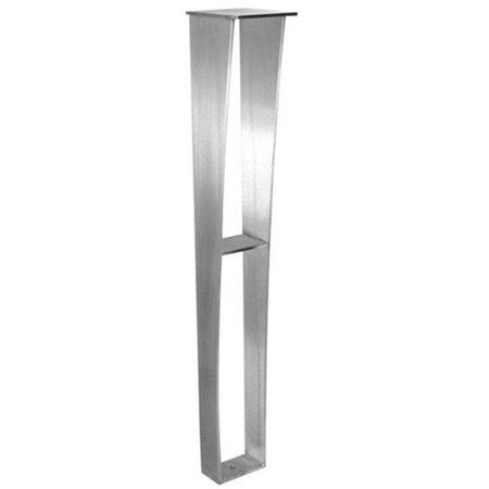 Federal Brace 39526 Anteris Countertop Support Leg, Stainless Steel - 29