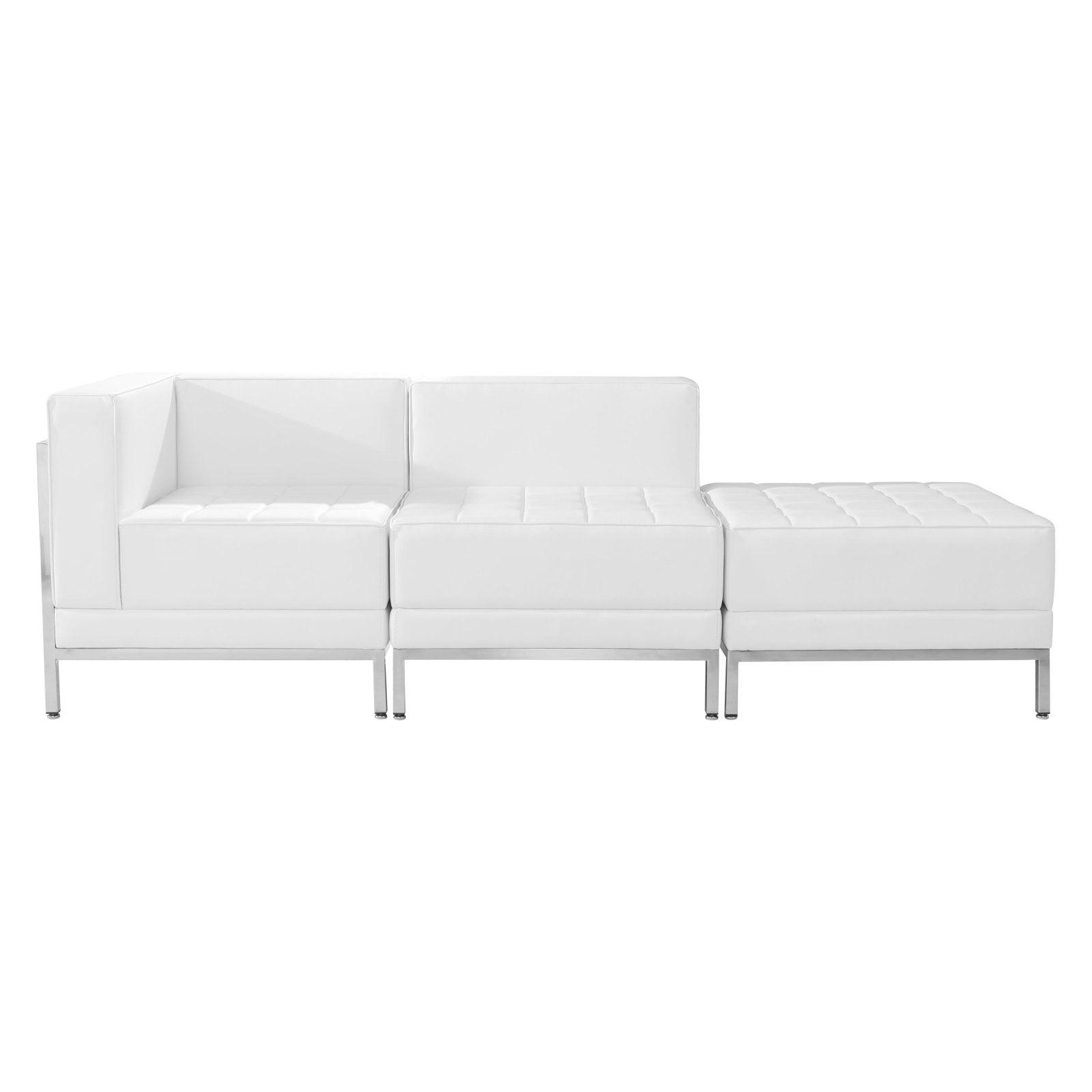 Flash Furniture Hercules IMagination Series 3 Piece Reception Chair Set by Flash Furniture