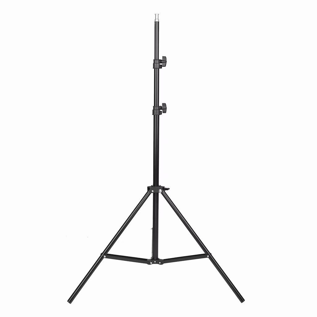 Kshioe Adjustable Photography Tripod Stands For Studio Lights Height Light Single 2m Light Stand Reflexed Light Ring Stand Black Walmart Com Walmart Com