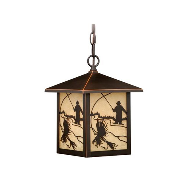Mayfly 8 in. Outdoor Pendant - Burnished Bronze