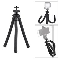 Universal Flexible Octopus Tripod Handy Tripod Stand 360 Degree Rotation Holder for DSLR Phone Action Camera
