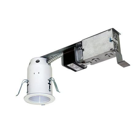 Jesco Lighting LV3001R 1 Light Halogen 3 Inch Remodel Recessed Housing