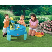 Step2 WaterWheel Activity Play Table Includes 4 Piece Accessory Set
