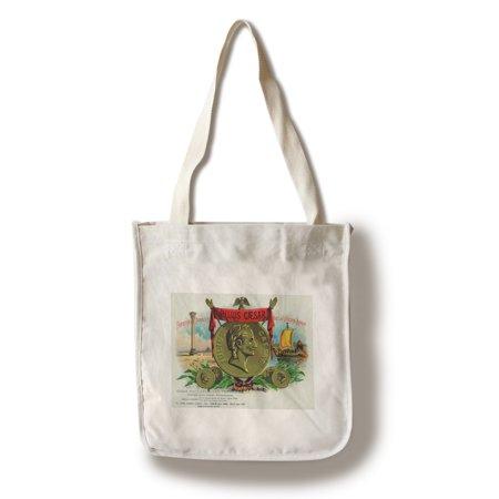 Julius Caesar Brand Cigar Box Label (100% Cotton Tote Bag - Reusable) (Baby Mk Bag)