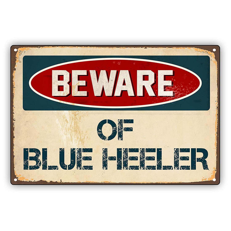 Queensland Heeler STREET SIGN ~ High Quality Aluminum ~