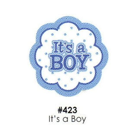 It's a Boy Cake Decoration Edible Frosting Photo Sheet