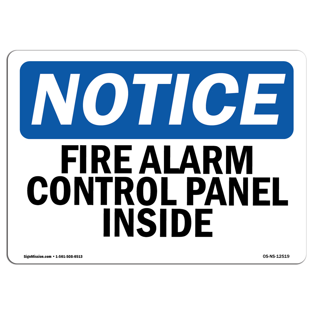 Emergency Exit Only Alarm Will Sound When Opened SignHeavy Duty OSHA Notice