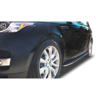 Broadfeet OE Replica Style Running Boards for 2013-2016 Land Rover Range Rover Sport in Aluminum