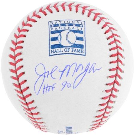 Joe Morgan Cincinnati Reds Autographed Hall of Fame Logo Baseball with HOF 90 Inscription - Fanatics Authentic