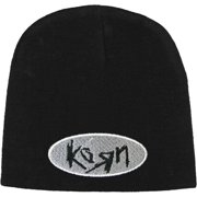 Korn Men's Oval Logo Beanie Black