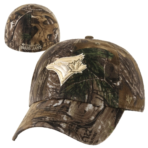 '47 Brand Toronto Blue Jays Realtree Camo Franchise Fitted Hat
