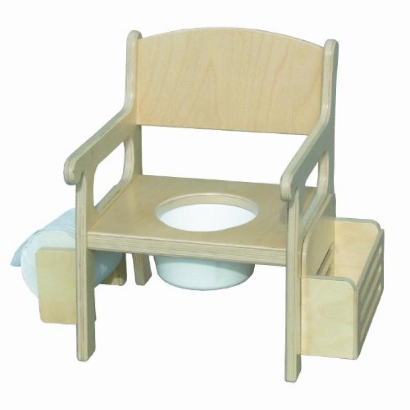 Little Colorado White Potty Chair with Accessories by Little Colorado Inc. - Dropship Code