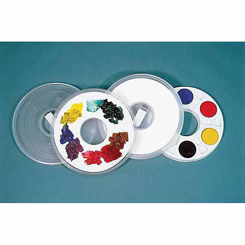 """Sax Paint Saver Palette with Cover and 40 Paper Liners, White, 11.5"""" x 1"""""""