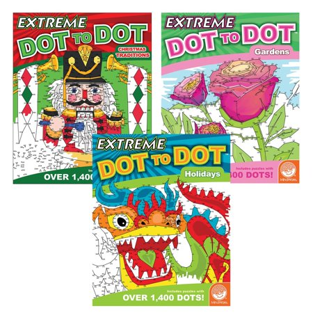 Extreme Dot to Dot: Magic Moments Set of 3, TOYS THAT TEACH: Studies show that connect-the-dot puzzles are one of the best tools for teaching children a multitude of.., By MindWare