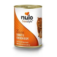 Nulo Grain Free Canned Wet Cat Food Turkey & Chicken Case of 12, 12.5 Oz Cans