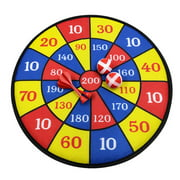 Dart Board for Kids with 2 Sticky Balls 2 Darts Classic Toy Gift for Boys Girls Party Theme Game for Ages 3 Year Old and Up