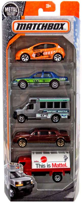 Matchbox Extraordinary Vehicles Diecast Vehicle 5-Pack [City] by