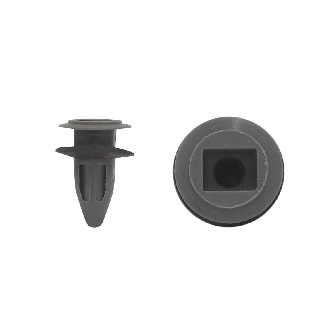 50Pcs 10mm x 8mm Hole Bumper Hood Fender Splash Guard Retainer Clips Fasteners