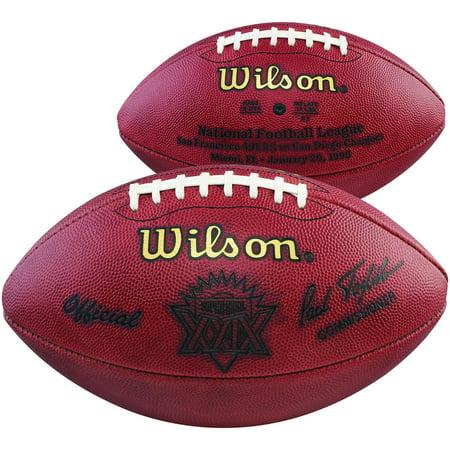 Super Bowl XXIX Wilson Official Game Football