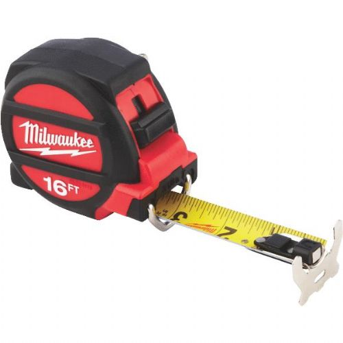 Milwaukee Magnetic Tape Measure with Blueprint Scale